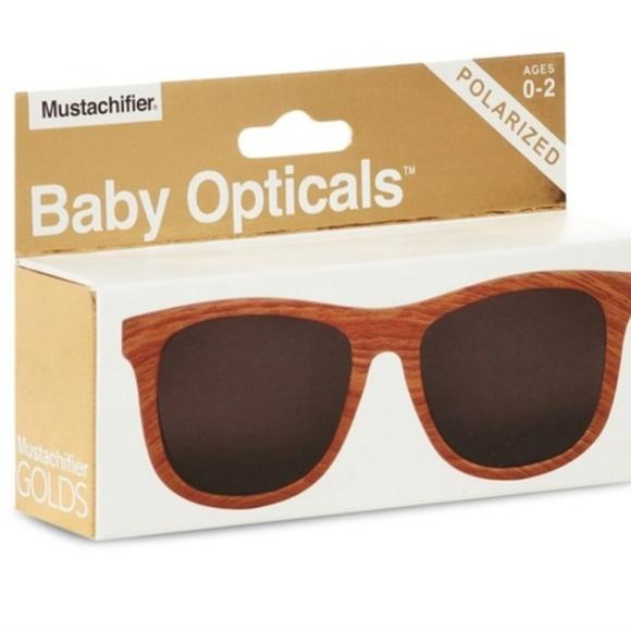 36f224e43ac06 Polarized Baby Sunglasses - Wood. Boutique